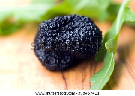 Black Truffles - stock photo