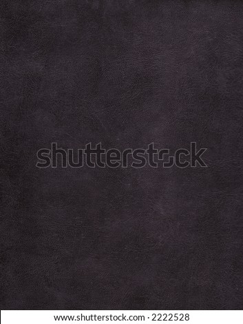 Black very fine leather texture background - stock photo