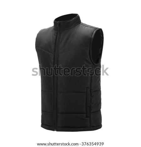 black Vest - stock photo