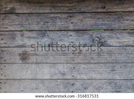 Black vintage wooden background. - stock photo