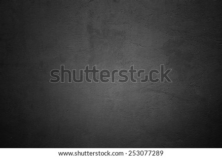 black wall - stock photo