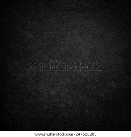 Black wall background or texture  - stock photo