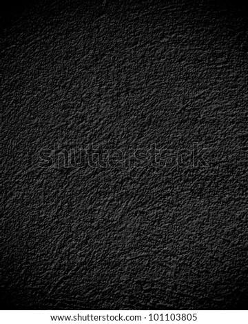 black wall texture, dark background - stock photo