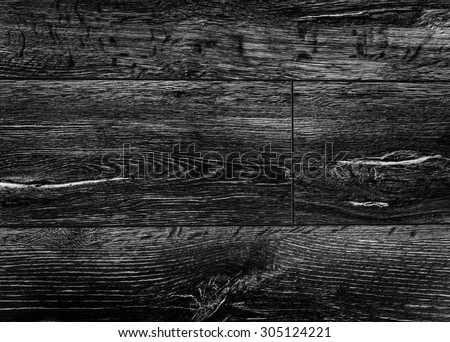 black wall wood texture background. - stock photo