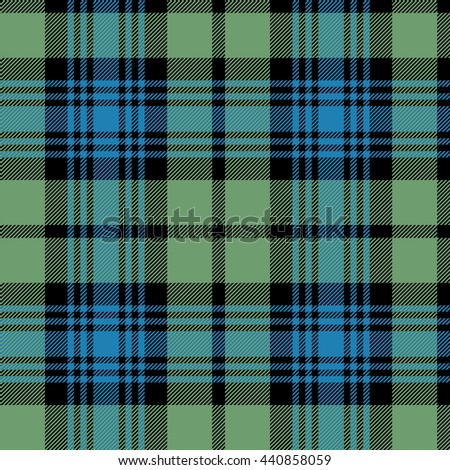 Black Watch Scottish tartan tileable wallpaper that repeats left, right, up and down