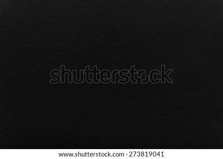 black watercolor paper, eggshell texture - stock photo