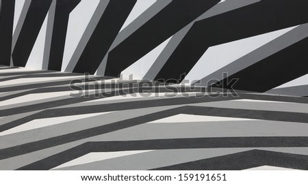 Black & white background - stock photo