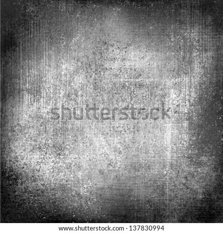 Black White Background Paper Old Distressed Vintage Grunge Texture Stained Messy Dirty Monochrome Color
