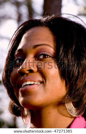 Black Woman - stock photo