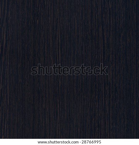 Black wood. Expensive ebony - stock photo