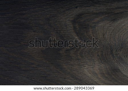 Black wood. Expensive ebony. - stock photo