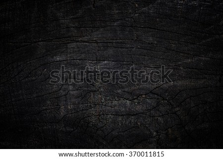 black wood texture background - stock photo