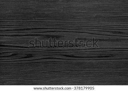 Black Wood texture background - stock photo