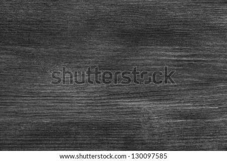 black wood texture, painted with acrylic paint - stock photo