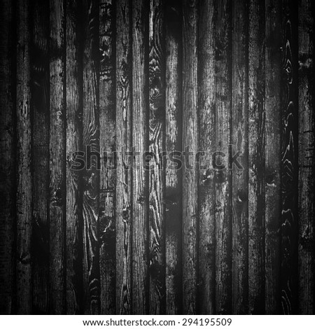 Black wood texture surface background - stock photo