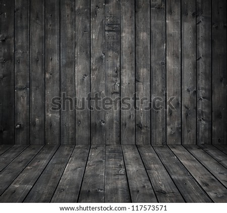 Black wooden laminate as a background