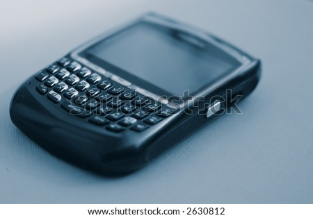 Blackberry - Personal Communication Device - Email - stock photo