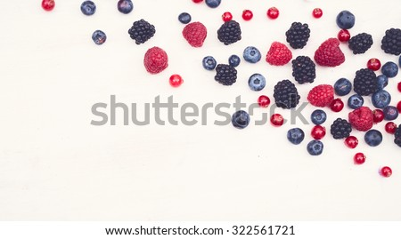 blackberry, raspberry, blueberry anti oxidants hero header