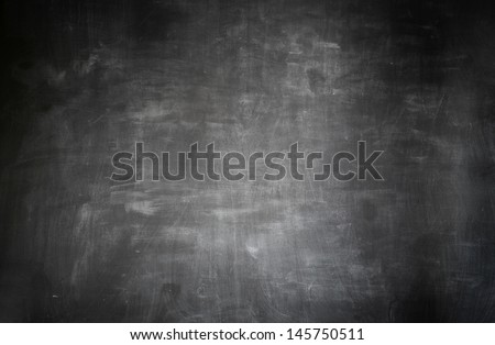 blackboard background - stock photo