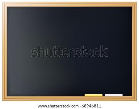 Blackboard, Bitmap copy - stock photo