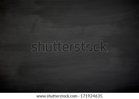 Blackboard texture. Empty dark background. - stock photo