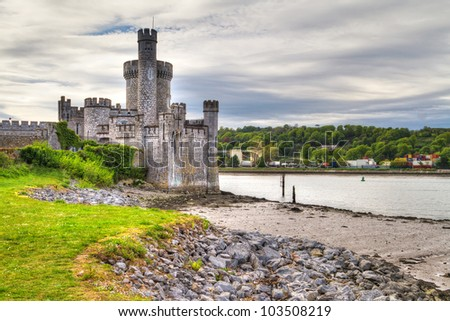 Blackrock Castle and observarory in Cork, Ireland - stock photo