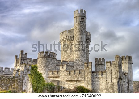 Blackrock castle in Cork city, Ireland. - stock photo