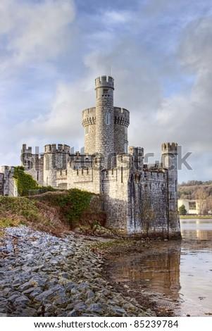 Blackrock castle in Cork city, Ireland. - stock photo