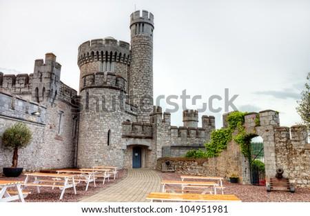 Blackrock castle in Ireland. - stock photo