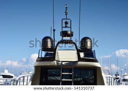 stock-photo-blacks-antennas-and-radar-of