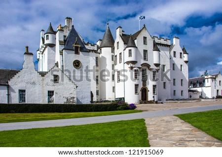 Blair Castle, Scotland - stock photo