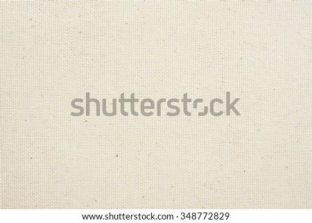 blank beige canvas texture background - stock photo