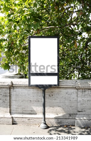 Blank billboard and outdoor advertising for more billboard visit our portfolio
