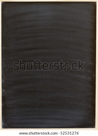 blank blackboard for writing your text - stock photo