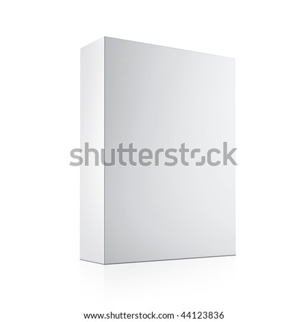 Blank box. Ready to use in your designs - stock photo