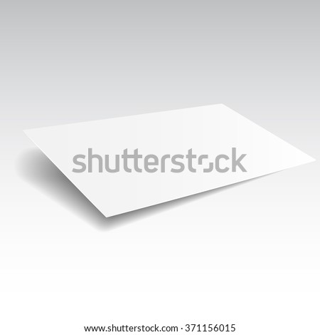 Blank buisness card mockup template. Realistic illustration. Raster copy of vector file.