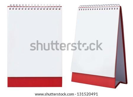 blank calendar - stock photo