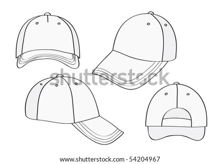 Blank Cap With Space For Your Design