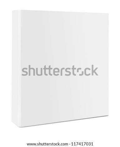 Blank case binder - stock photo