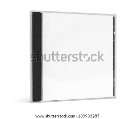 blank cd case facing forward standing stock photo royalty free