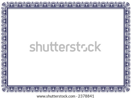 Blank Certificate Recycle Symbol Stock Photo   Shutterstock