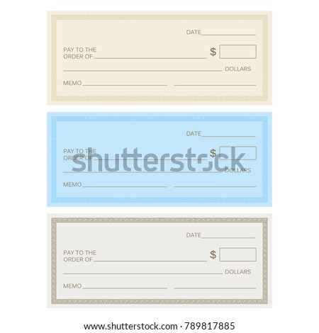 Check template bank blank check icon stock vector 730635904 blank check template check template banking check template pronofoot35fo Gallery
