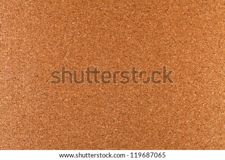 Blank cork memo board as background - stock photo