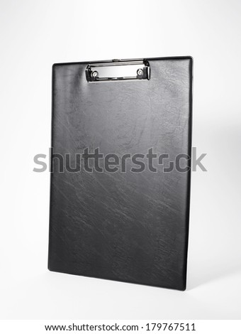 Blank cortical clip board - stock photo