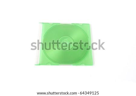 blank disc - stock photo