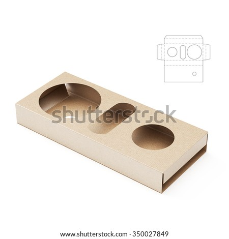 Paper tray stock images royalty free images vectors for Paper food tray template