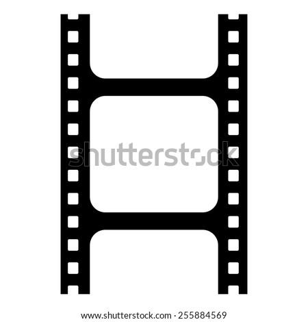 blank film strip - stock photo