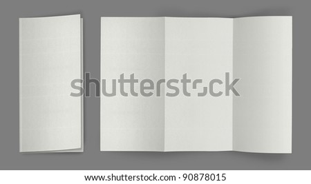 Blank Brochure Template Stock Images RoyaltyFree Images - Brochure blank template