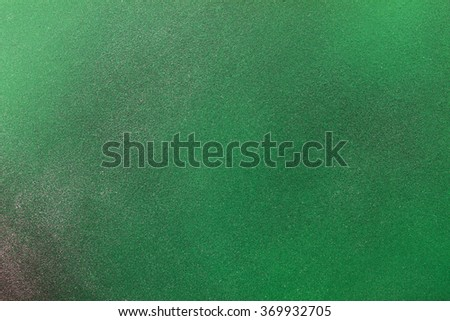 Blank Green Blackboard - stock photo