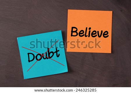 Blank notes pasted on blackboard which can be background for you text or drawing. - stock photo